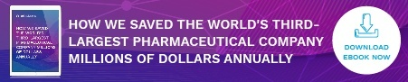 How we saved the world's third-largest pharmaceutical company millions